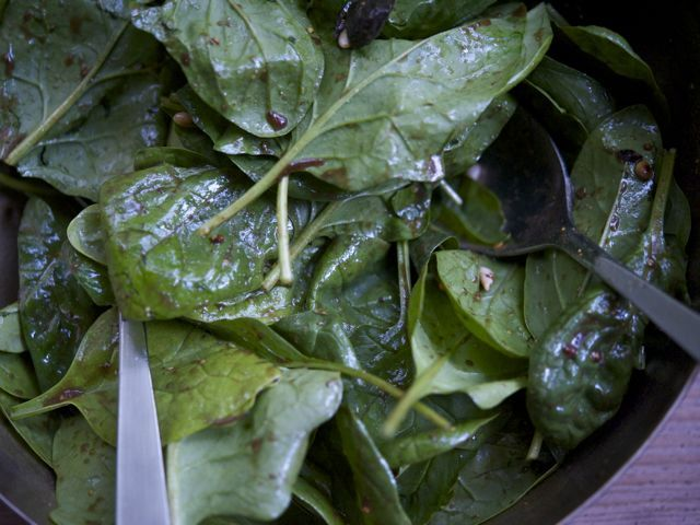 Spinach salad 790 xxx