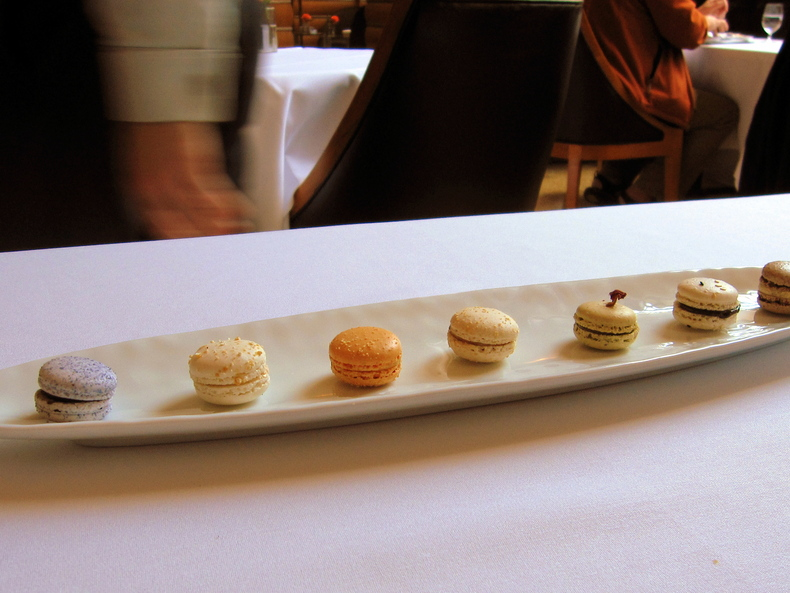 Macarons-790-xxx. Tagged ? Daniel Humm, 11 Madison Park, restaurant review, ...